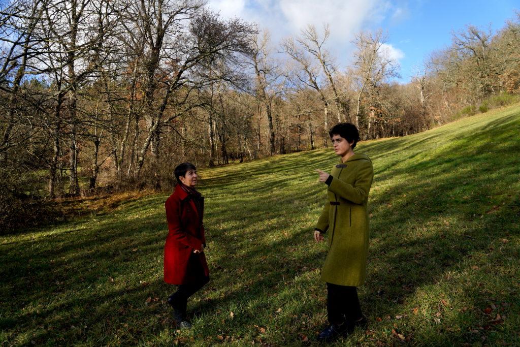 Madre e hija - artisanes de truffes bio en lozère