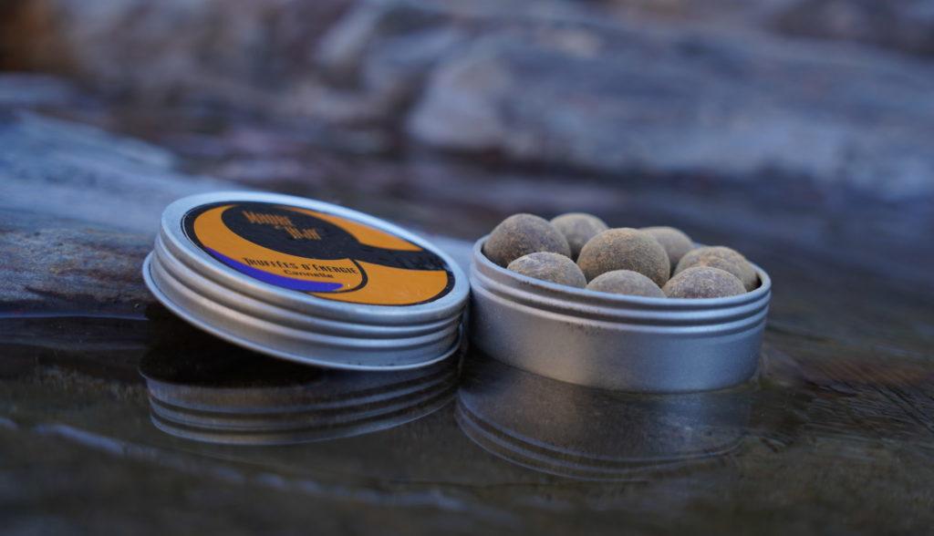 Truffe bio chocolat cannelle, boite de 45g