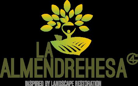 Logo Almendrehesa_Inspired Madre e Hija, La Almendrehesa, fournisseur des amandes, truffèes d'énergie veganes sans sucres ajoutés